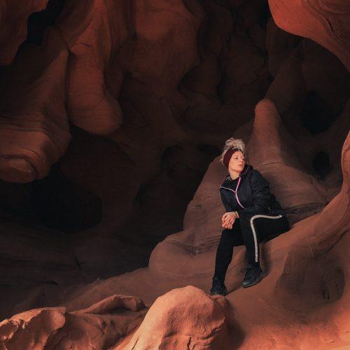 Cuevas de Can Riera ''El Cañón Antílope Catalán''