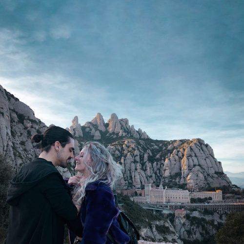 El monasterio de Montserrat y la Virgen negra «La Moreneta»
