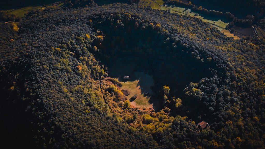 Volcán de santa margarida