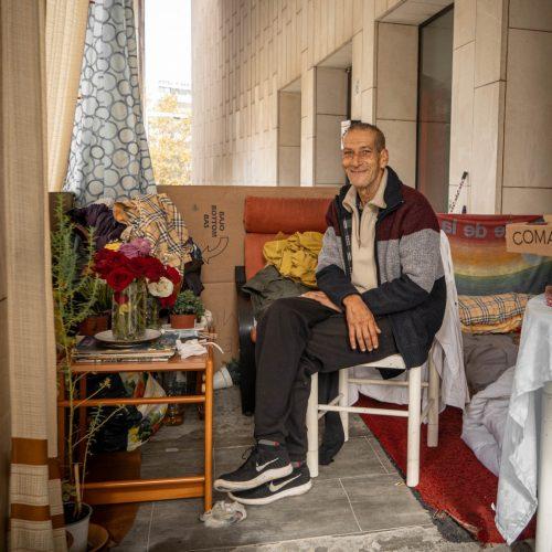 Vivir en la calle durante el confinamiento en Barcelona