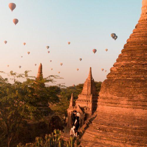 Los maravillosos templos de Bagan, Birmania